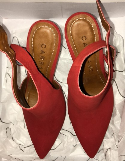 Carrano nub red Boots Image 2