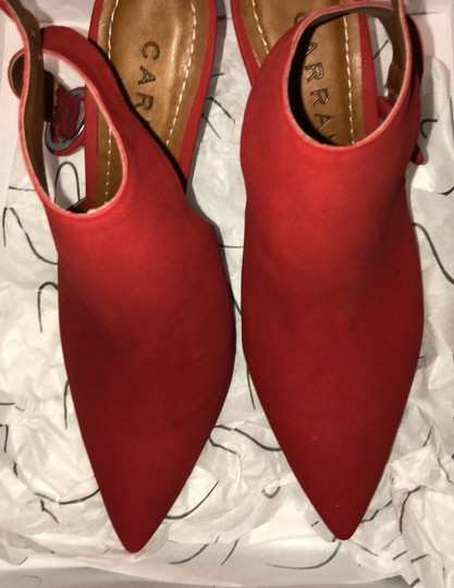 Carrano nub red Boots Image 3