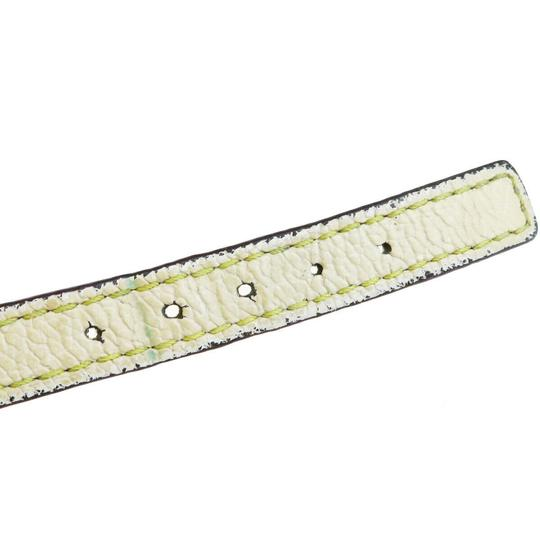 Louis Vuitton Lvory Studded Leather France Bracelet Image 4