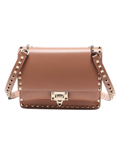 Preload https://img-static.tradesy.com/item/26023633/valentino-spk-new-rockstud-brown-leather-shoulder-bag-0-0-540-540.jpg