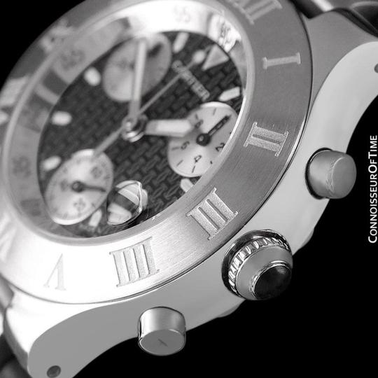 Cartier Cartier 21C Mens Chronoscaph Chronograph, Ref. 2424 - Stainless Steel Image 5