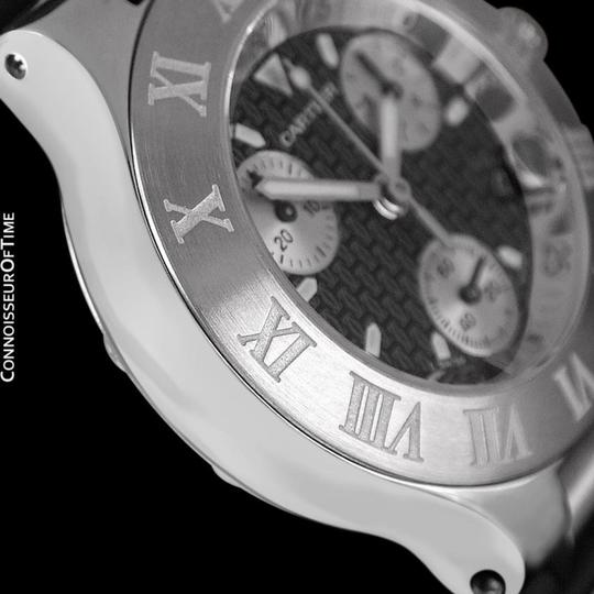 Cartier Cartier 21C Mens Chronoscaph Chronograph, Ref. 2424 - Stainless Steel Image 6