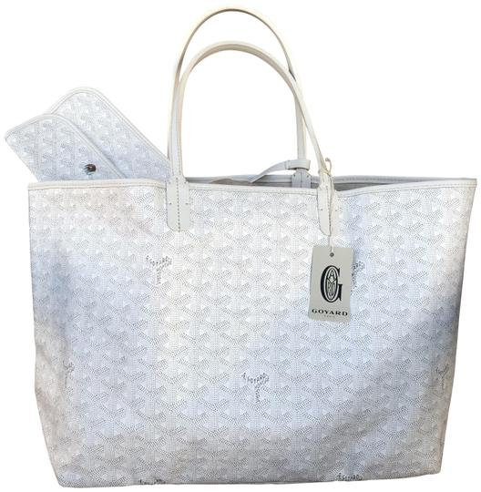 Preload https://img-static.tradesy.com/item/26023740/goyard-classic-chevron-st-louis-pm-includes-detachable-wallet-white-coated-canvas-and-leather-tote-0-1-540-540.jpg