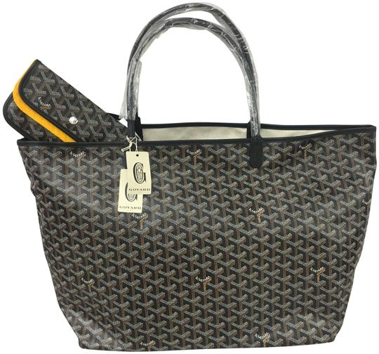 Preload https://img-static.tradesy.com/item/26023749/goyard-classic-chevron-st-louis-gm-includes-detachable-wallet-black-coated-canvas-and-leather-tote-0-1-540-540.jpg