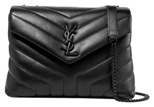Preload https://img-static.tradesy.com/item/26023768/saint-laurent-monogram-loulou-shoulder-small-quilted-leather-black-cross-body-bag-0-1-540-540.jpg