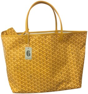 Goyard Saint Louis St Louis Gm Tote in Yellow