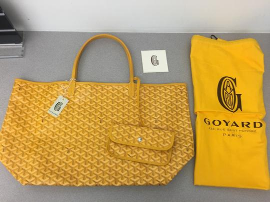 Goyard Saint Louis St Louis Gm Tote in Yellow Image 1