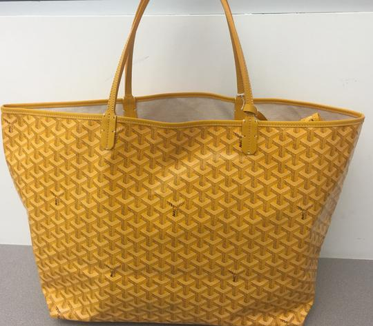 Goyard Saint Louis St Louis Gm Tote in Yellow Image 2