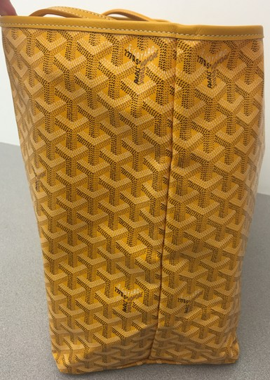 Goyard Saint Louis St Louis Gm Tote in Yellow Image 3