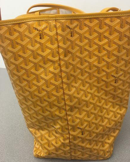 Goyard Saint Louis St Louis Gm Tote in Yellow Image 4