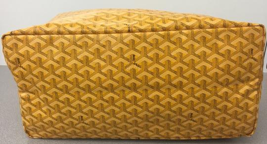Goyard Saint Louis St Louis Gm Tote in Yellow Image 5