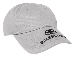 Balenciaga BB logo embroidered baseball hat