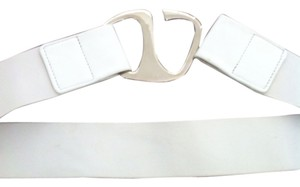 Nine West Nine West White Belt