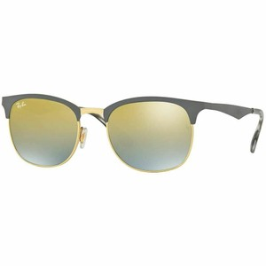 Ray-Ban & Gold Gradient Lens Unisex Sunglasses