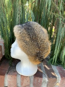 """Other Plush Prairie Fox Fur Vintage Hat From Germany 22"""""""