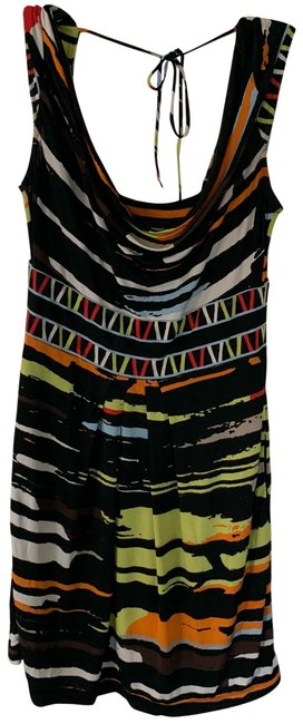 Item - Multi Colored Unknown Short Night Out Dress Size Petite 6 (S)