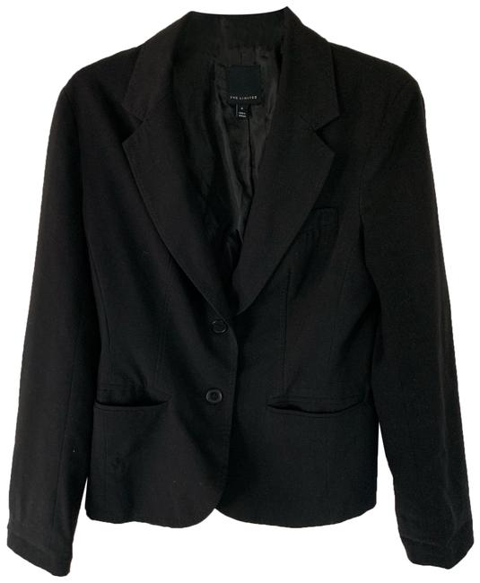 Preload https://img-static.tradesy.com/item/26024524/the-limited-black-unknown-blazer-size-6-s-0-1-650-650.jpg