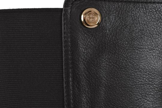 Tory Burch Riding Winter Leather Knee High Black Boots Image 4