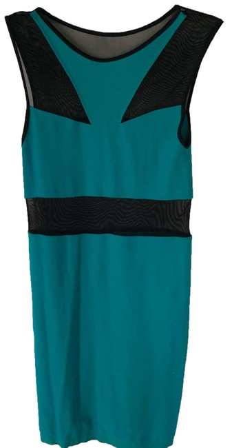 Item - Teal Unknown Short Night Out Dress Size 8 (M)