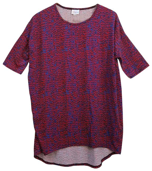 Item - Blue and Red Irma Tunic Size 2 (XS)