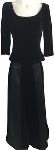 Chetta B Evening Wear Velvet Long Skirt Dress