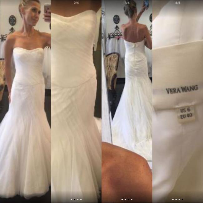 Item - Ivory English Net Couture Casual Wedding Dress Size 6 (S)