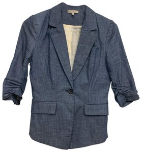Just Ginger Jean blue wash Blazer