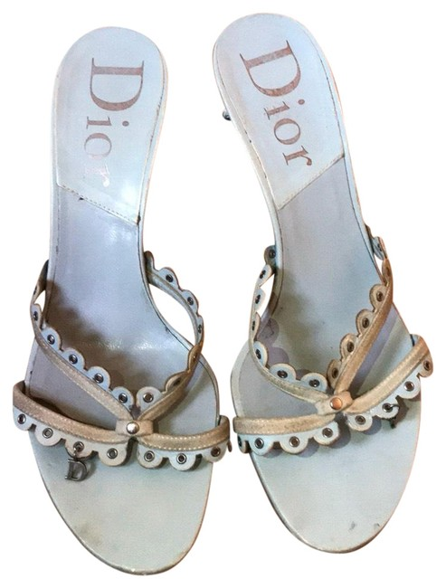 Item - Baby Blue Sandals Size EU 36.5 (Approx. US 6.5) Regular (M, B)