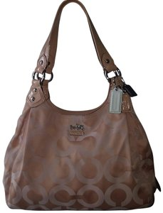Coach Hang Tags Rare Hard-to-find Horse&carriage Logo Satchel in SV/Peach