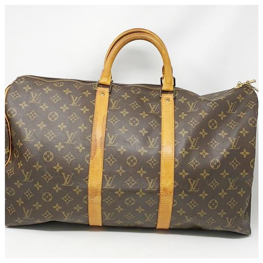 Preload https://img-static.tradesy.com/item/26025170/louis-vuitton-monorgam-brown-leather-weekendtravel-bag-0-0-540-540.jpg
