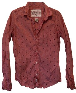 Frank & Eileen Button Down Shirt Red, white and blue