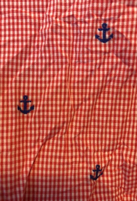Frank & Eileen Button Down Shirt Red, white and blue Image 4