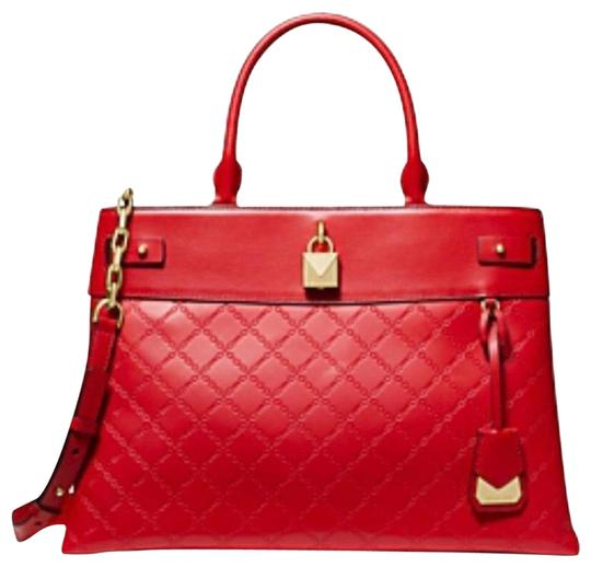 Preload https://img-static.tradesy.com/item/26025414/michael-michael-kors-large-gramercy-bright-satchel-red-leather-tote-0-1-540-540.jpg