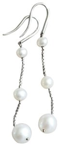David Yurman David Yurman Triple Pearl Drop Earrings