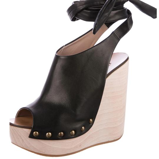 Chloé Black Wedges Image 0