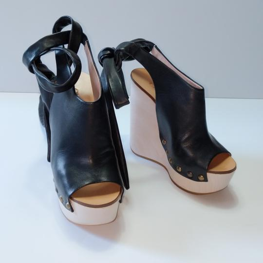 Chloé Black Wedges Image 1