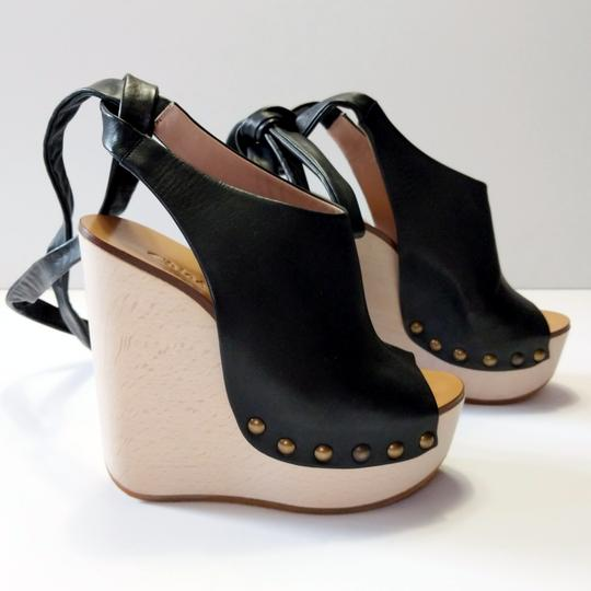 Chloé Black Wedges Image 7