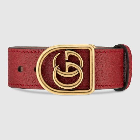 Gucci Marmont Double G leather bracelet SIZE SMALL Image 1