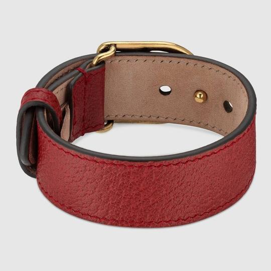 Gucci Marmont Double G leather bracelet SIZE SMALL Image 3