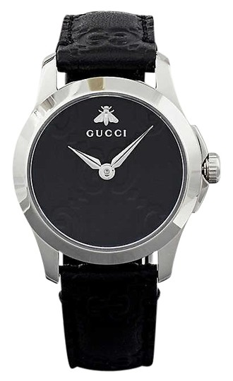 Preload https://img-static.tradesy.com/item/26025470/gucci-ya126579-g-timeless-collection-stainless-steel-and-leather-watch-0-1-540-540.jpg