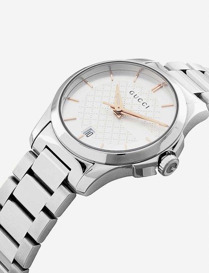 Gucci YA126523 G-Timeless stainless steel watch Image 1