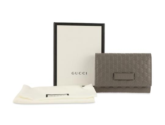 Gucci Microguccissima Leather Snap-Flap Image 11