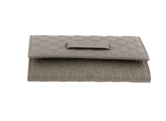 Gucci Microguccissima Leather Snap-Flap Image 2