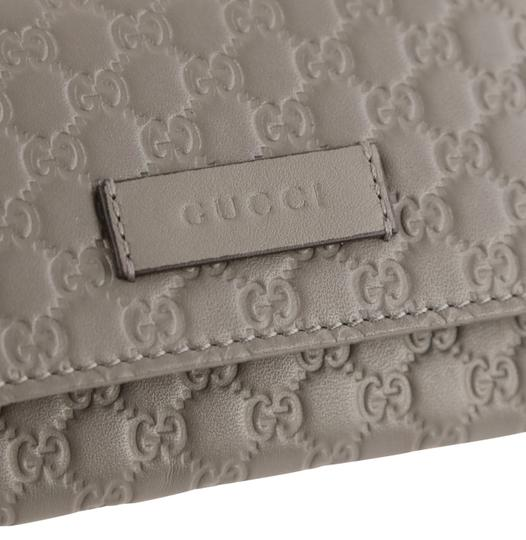 Gucci Microguccissima Leather Snap-Flap Image 5
