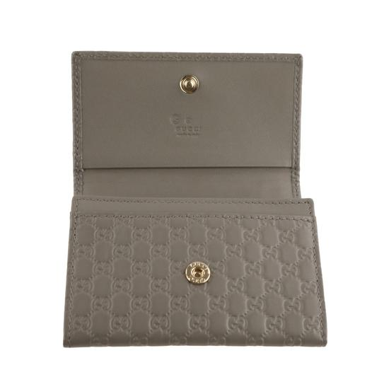 Gucci Microguccissima Leather Snap-Flap Image 6