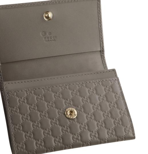 Gucci Microguccissima Leather Snap-Flap Image 7