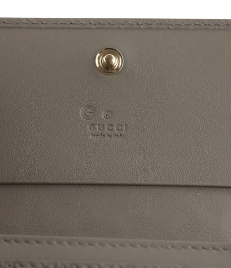 Gucci Microguccissima Leather Snap-Flap Image 8
