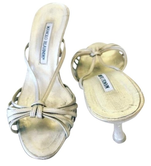 Preload https://img-static.tradesy.com/item/26025553/manolo-blahnik-gold-silver-foil-36-sexy-sandals-size-us-55-narrow-aa-n-0-1-540-540.jpg