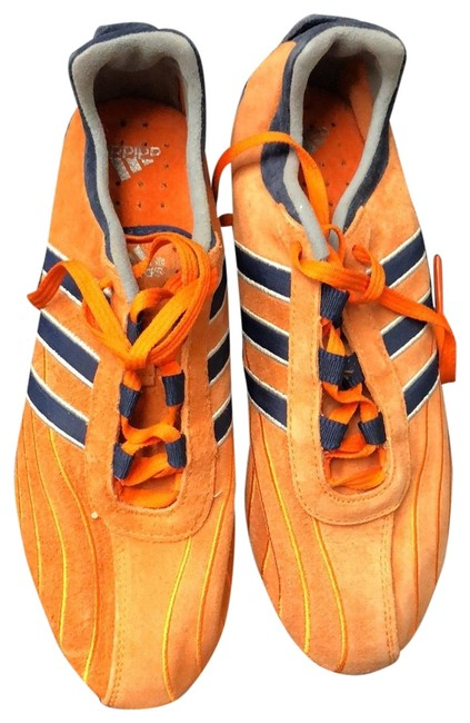 Item - Orange and Blue Adidas Tennis Sneakers Size US 5.5 Narrow (Aa, N)