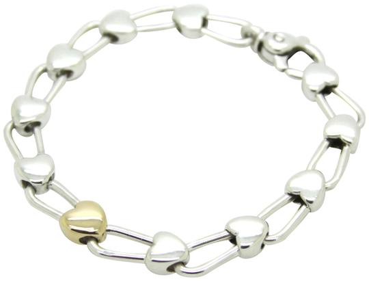 Preload https://img-static.tradesy.com/item/26025571/tiffany-and-co-silver-and-gold-italy-continuous-hearts-18k-925-sterling-bracelet-0-3-540-540.jpg